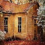 Little Old School House II Poster by Julie Dant