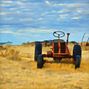 Little Red Tractor 4 Poster