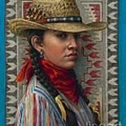 Little Rising Hawk Poster by Jane Bucci