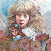 Little Rose Angel Poster