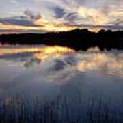Little Silver Lake Sunset Poster