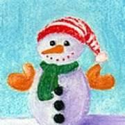 Little Snowman Poster