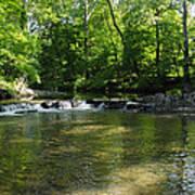 Little Waterfall At Green Lane Pa. Poster