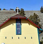 Little Yellow Church Poster