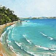 Litttle Cove Beach Noosa Heads Queensland Australia Poster