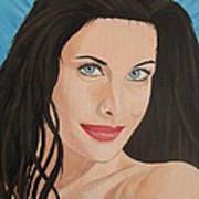 Liv Tyler Painting Portrait Poster