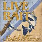 Live Bait Poster