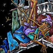 Livres Illustres Pour Enfants - Fiaba Di Pinocchio Disegni Per Bambini Poster by Arte Venezia