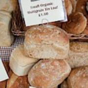 Loaves Of Organic Bread Poster