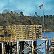 Lobster Traps Off Season Poster