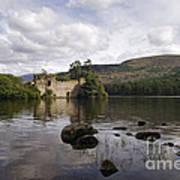 Loch-an-eilein Castle - D003341 Poster