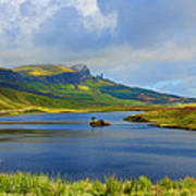 Loch Fada To The Storr Poster