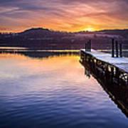 Loch Lomond Dawn Poster