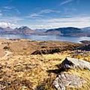 Loch Torridon From Bealach Na Gaoithe Poster