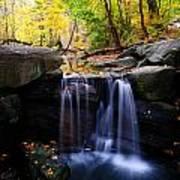 Loch Waterfall Poster