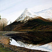 Lochleven Reflections Poster