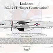 Lockheed Ec-121t Super Constellation Poster