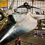 Lockheed M-21 Blackbird Poster