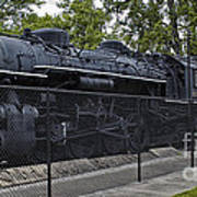 Locomotive 639 Type 2 8 2 Side View Poster