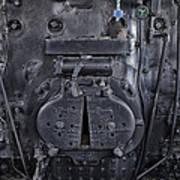 Locomotive 886 Steam Boiler Firebox Poster