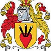 Logan Coat Of Arms Irish Poster