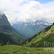 Logan Pass Before The Storm Poster