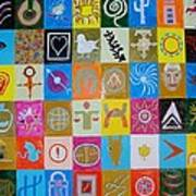 Logos and symbols Poster