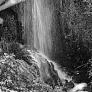 Loja Waterfall Mono Poster