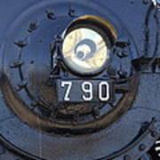 Lokomotive No 790 - Illinois Central Poster