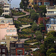Lombard Street Poster