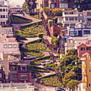Lombard Street. Poster