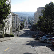 Lombard Street. San Francisco 2010 Poster