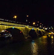 London Bridge Night Poster