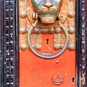 London Doorknocker Poster