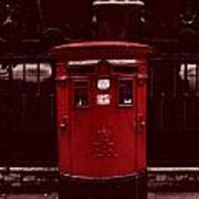 London Post Box Poster