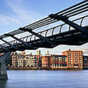Millennium Bridge London 1 Poster