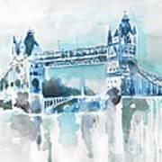 Londres- Tower Bridge Poster