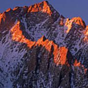 Lone Pine Peak - February Poster