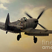 Lone Spitfire Poster