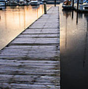 Lonely Dock Poster