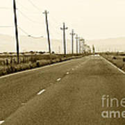 Long Road Home Poster by Artist and Photographer Laura Wrede