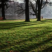 Long Winter Shadows Poster