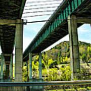 Longest Bridges In Vermont Poster