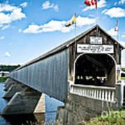 Longest Covered Bridge Poster