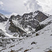 Longs Peak Winter Poster