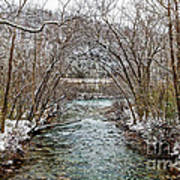 Looking Down Clifty Creek Poster