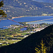 Looking Down On Sandpoint Poster