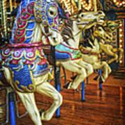 Dancing Horses Poster