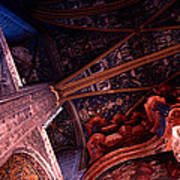 Looking Up Albi Cathedral Poster