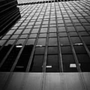 Looking Up At 1 Penn Plaza On 34th Street New York City Usa Poster